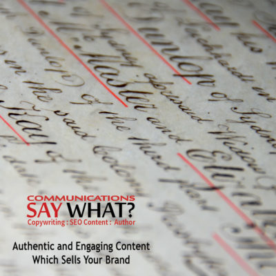 SEO content copy writer and author